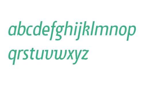 Suomi Sans W01 Book Italic
