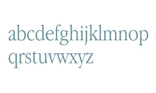 Apple Garamond BT Light