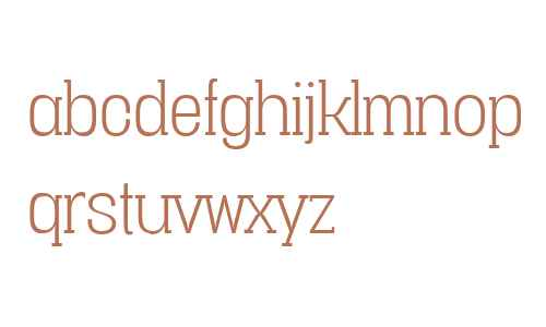 Vacer Serif W00 Light