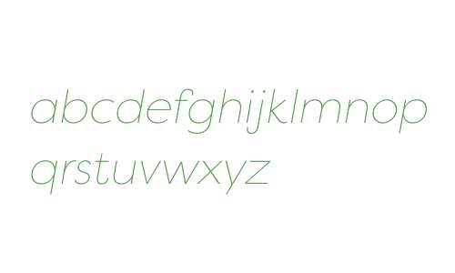 Filson W04 Thin Italic