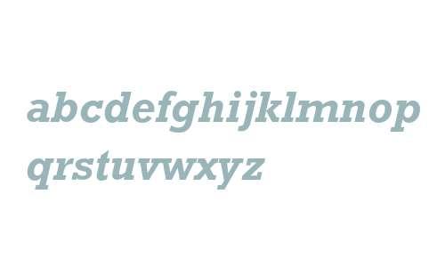 Rockwell Std Bold Italic