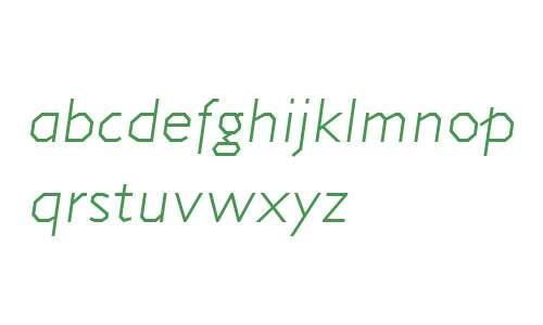 Jillican Light Italic