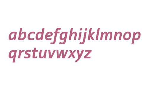 Tabula ITC Std Bold Italic