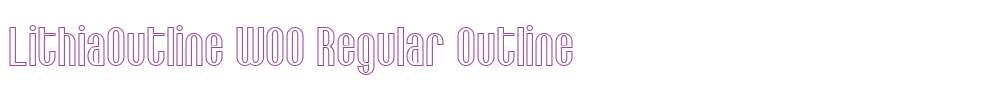 LithiaOutline W00 Regular