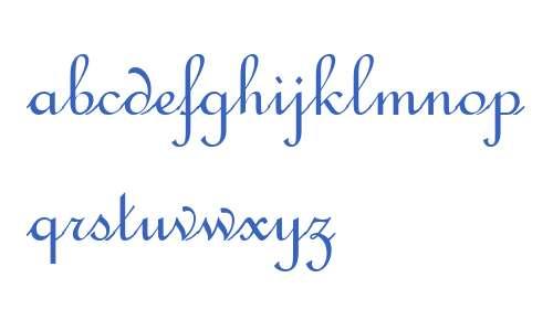 French Script W04 Regular