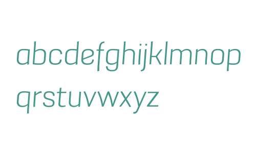 Grafia Sans 1 W01 Light Italic