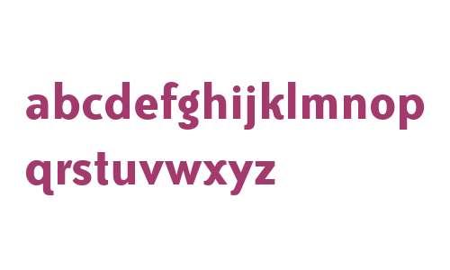 Bailey Sans ITC W04 Bold