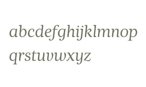 Nyte W00 Light Italic