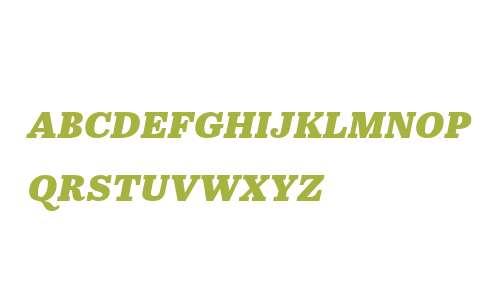 Abril W02SC Text  XBold Italic