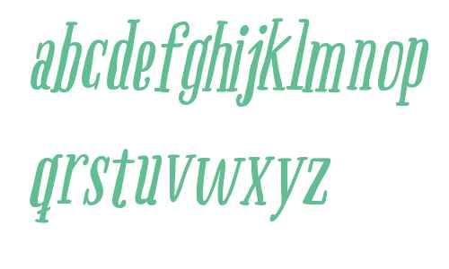 Boho Serif W00 Bold Italic