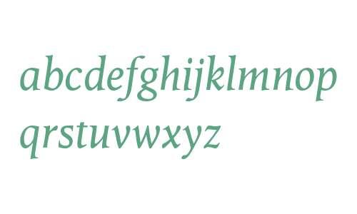 Octavian MT Italic
