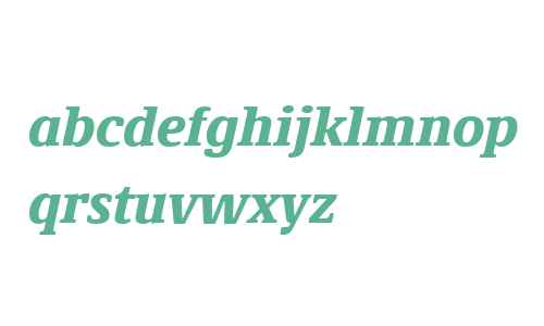 Demos Next W04 Black Italic