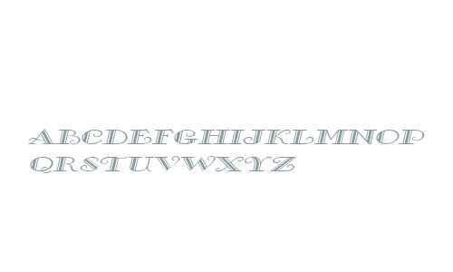 Gallery Wide Italic