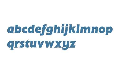 Flange (R) Bold Italic