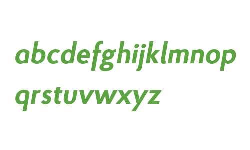 Proba W03 Bold Italic