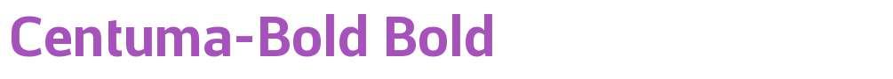 Centuma-Bold