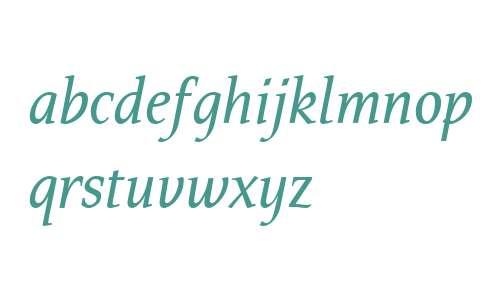 Tarquinius OT W03 Book Italic