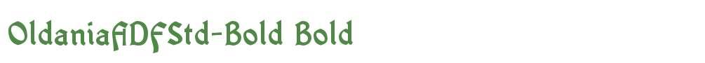 OldaniaADFStd-Bold