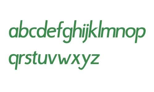 Bergsland Display W01 Italic