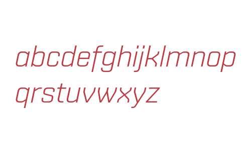 Shentox W01 Light Italic