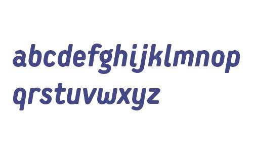 Extreme Sans W01 Heavy Italic