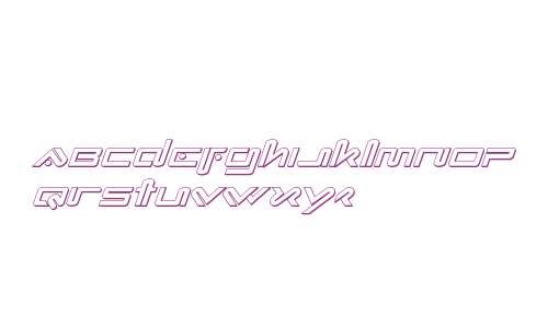 Xephyr 3D Italic