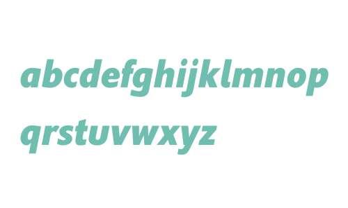 Supra W01 XBoldCondensedItalic