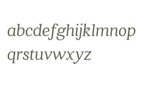 Quincy CF Italic