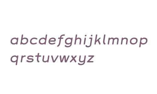 Grover W01 Italic