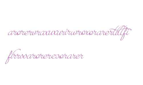 ParadiseScriptLigatures
