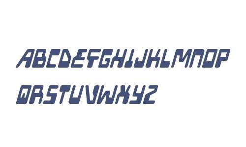 Xped Condensed Italic