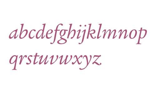 Legacy Serif ITC Book Italic