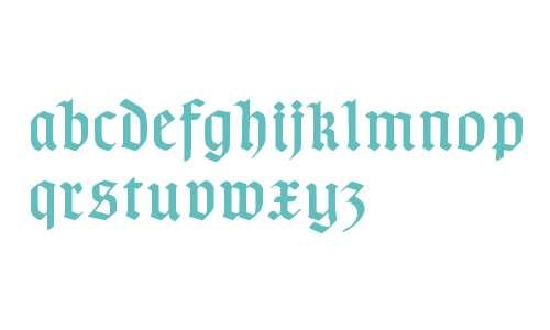 TypographerGotischD