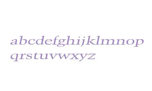 Congo Extended Italic