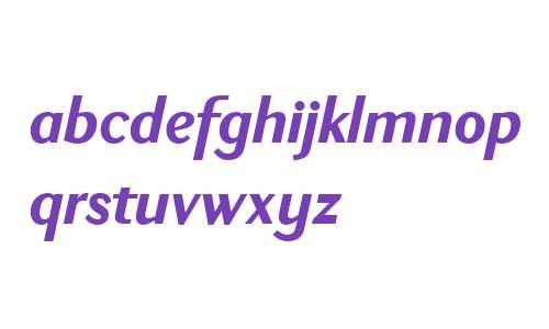 New Millennium W03 Bold Italic