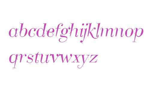 Take Five W01 Italic
