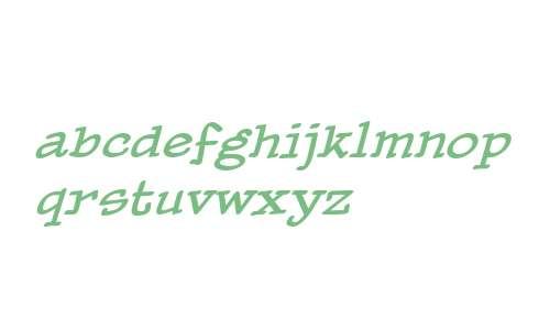 PaperBoy BB W00 Italic