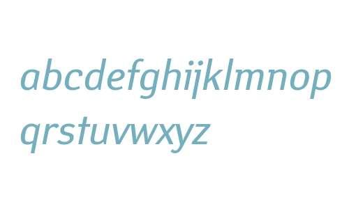 Yanus W08 Italic