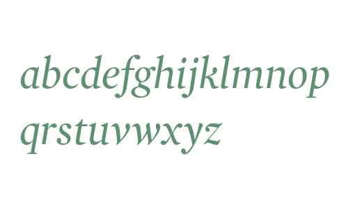 Mercury Display Italic