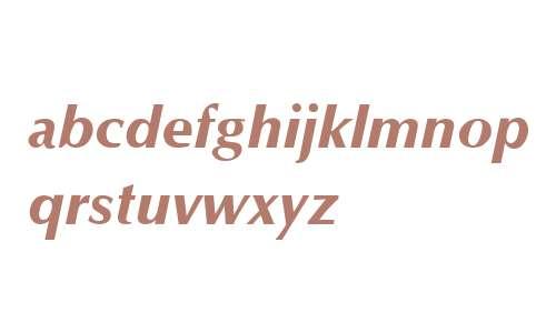 Optane ExtraBold Italic V1