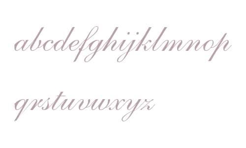 Shelley Script LT W04 Regular