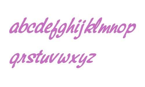 Montauk W01 Bold Italic