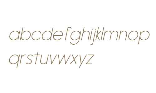 Hiruko W01 ExtraLight Oblique