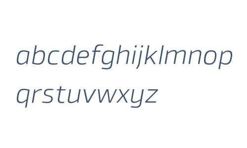 Byker W00 Light Italic