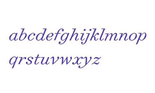 Surveyor Text Light Italic