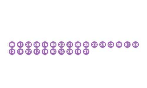 NumbersStyleTwoCircleNegative W