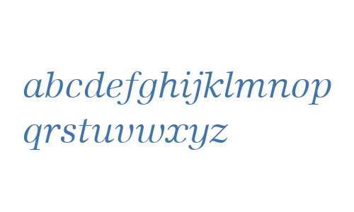 Edison W01 Book Italic