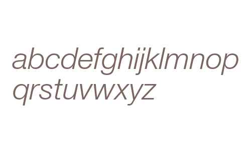 Context Reprise Light SSi Light Italic