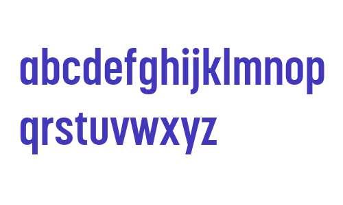 Korolev Condensed W04 Bold