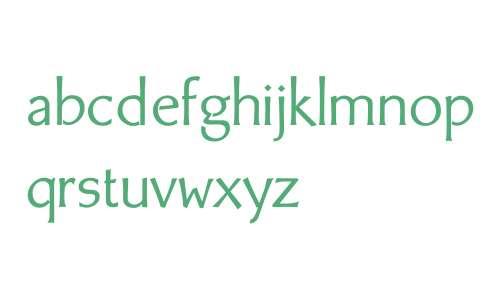 BodyCopy Sans W01 Regular